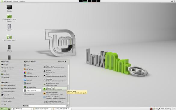 Localización de Ubuntu Tweak
